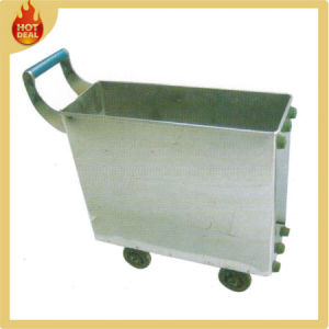 Stainless Steel Train Voedsel Delivery Service Cart Trolley