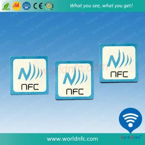 3m 접착제를 가진 Programmabel Ntag 213 25mm NFC 스티커