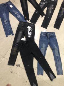女性のズボンのための卸し売り伸張のジーンズ