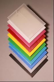 Color de alta calidad PP Placa hueco losa