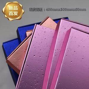 Het hoogste Zwarte Ondergoed van de Douane van de Doos van de Kleding van Taobao van de Film van het Metaal van de Rang Verpakkende, de Uitdrukkelijke Doos van de Kleur, de Doos van Vliegtuigen