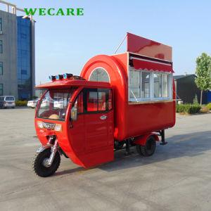 전기 이동할 수 있는 모터 자전거 음식 손수레