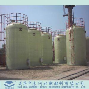 FRP GRP Druckbehälter-chemisches Speicher-Vertikale-Becken