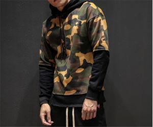 형식 디자인 Streetwear Mens 우연한 Camo Hoodie