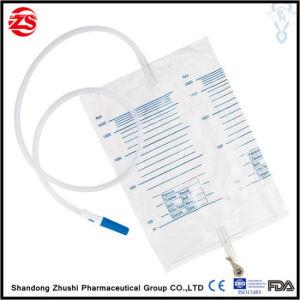 De plástico desechables médicos bolsa recolectora de orina