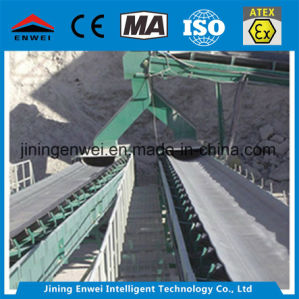 Pierre de charbon de l'équipement de transport de minerai de convoyeur à courroie pour le fabricant