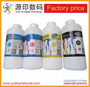 Tinta de Sublimación de tinta para el poliéster impresión con impresoras Epson