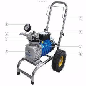 18L/Min 4000Wの機械に吹きかける高圧電気空気のないペンキのスプレーヤー/Painting