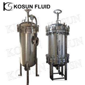 Жидкость из нержавеющей стали с картриджа фильтра
