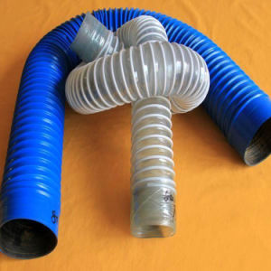 Aire Acondicionado Portátil de aluminio PVC Fuentes de la manguera de ventilación conductos flexibles