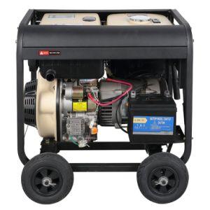 Ce&ISO9001 ha approvato il tipo aperto Generaotr diesel raffreddato aria impostato (DG7250LE)