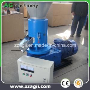 Petite presse à granulés de sciure de bois de sciure de bois de la plaque plat Pellet Making Machine