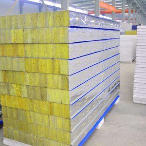 Resistente a la corrosión de materiales de construcción de paneles sándwich de algodón de seda de vidrio
