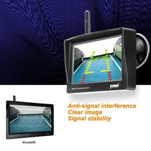Macchina fotografica d'inversione di retrovisione dell'automobile mini con il trasmettitore senza fili e  il video del LED 4.3