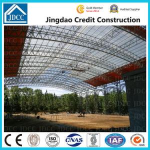 Nuevo diseño de marca Jdcc Prefabricados de estructura de acero de la luz de la construcción de gimnasio