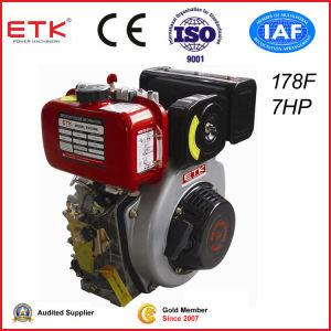 Motore diesel approvato del CE piccolo (ETK178F E)