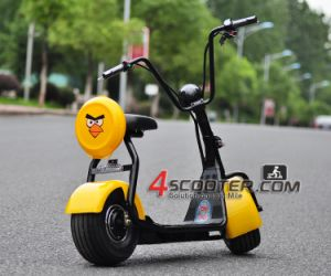 O best selling grande roda 500W Citycoco Júnior Harley Scooter eléctrico
