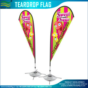 Beach Flag Flying affiché Tear Drop (T-NF04F06090)