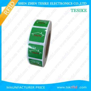 ISO14443A印刷できるペーパープログラム可能なRFID NFCの札/ステッカー/ラベル