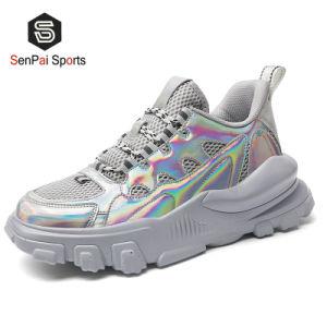 2020 Hotsell Shinny PU de alta calidad zapatos de moda zapatos casual
