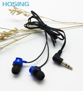Promoção coloridos no fone de ouvido com plugue de 3,5 mm estilo auscultadores jack