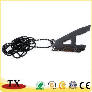Progettare la modifica per il cliente di cane Pendant irregolare del metallo della collana