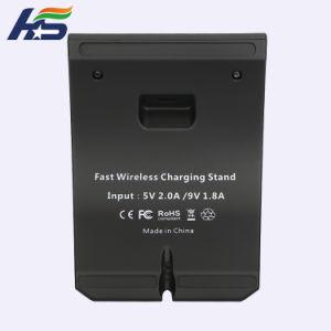 T форма подставки ци адаптер с вентиляторами охлаждения Wirelss зарядного устройства