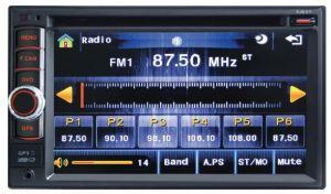 6.5Inch Double DIN 2 DIN Car DVD com GPS sistema Android/Wince