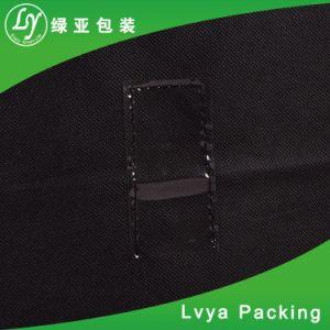 Comercio al por mayor eco Friedly plegable promocional personalizado el polvo de prendas de vestir traje de tela Bolsa de cubierta