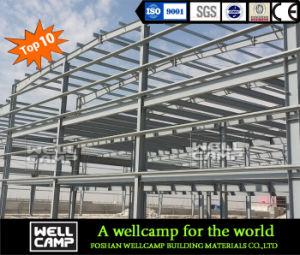 Wellcamp Estructura de acero de alta calidad la construcción de edificio residencial más detalles