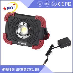 800lm lumière rechargeable de travail du lumen 10W DEL avec le logo