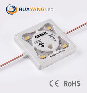 5630 LEIDENE van de Injectie SMD 4 LEDs Module voor Verlicht Ce RoHS van Tekens
