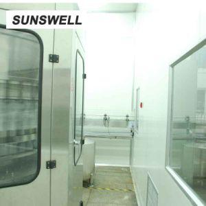 Het Vullen van Sunswell de Blazende het Afdekken Machine van het Water Combiblock met Houten Verpakking
