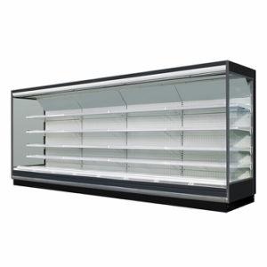 Remote Multideck supermarché réfrigérateur pour les fruits et légumes afficher