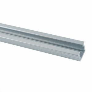 LED de aluminio resistente al agua IP67 de aluminio de extrusión de perfil de la sección Canales para el exterior