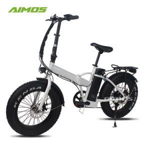 2018 Cheap Aimos neumático de bicicleta plegable de grasa E 500W.