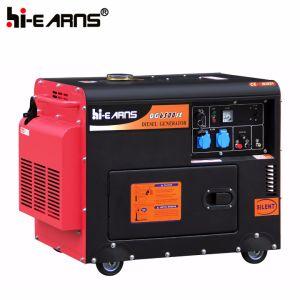 5.5kw携帯用無声ディーゼル機関の発電機の価格(DG7500SE)