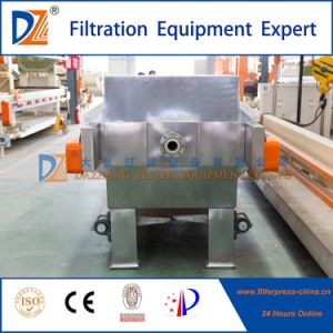 물 처리 장비 자동적인 유압 S.S. 여과 프레스 기계
