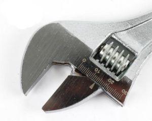 Chiave di chiave registrabile del acciaio al carbonio con la maniglia tuffata