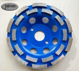 100-180mm Diamond Copa de moagem de betão e pedra da Roda
