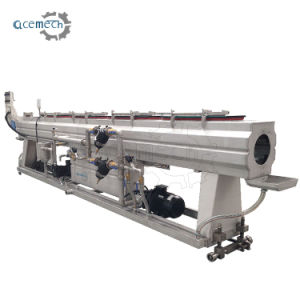 PLC Controlled Full Automatic 40160mm HDPE Plastic Pipe Extruder