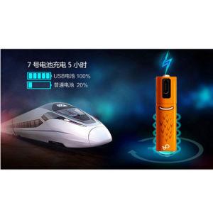 USB 1.2V 450mAh AAAの充電電池電池
