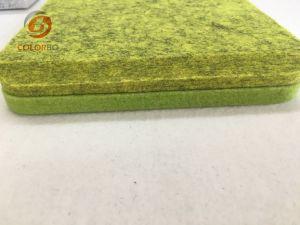Grünes und umweltfreundliches Polyester-Faser-akustisches Panel