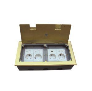 Elektrische Kasten Soem-Standardfabrik der Kontaktbuchse-IEC60884/des Fußbodens