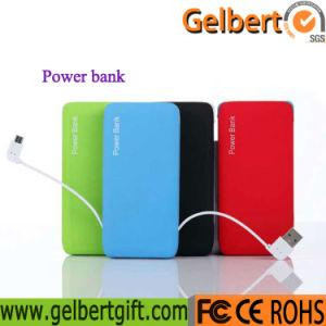La Banca portatile di potere del caricatore della batteria del Li-Polimero di Gelbert con RoHS