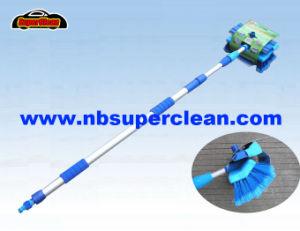 3 m de cabo telescópico extensível a escova de lavagem de carros com rodo (NC1968)