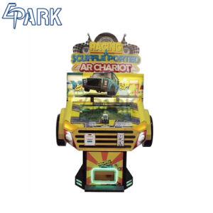 ハイテクなタッチ画面のアーケードのレースカーのゲーム・マシン指名されたArの一人乗り二輪馬車