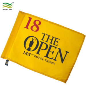 Tejidos de poliéster Oxford personalizadas banderas de Golf y polo