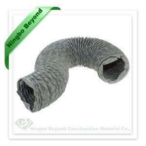 Conducto de aire Sistema de ventilación de PVC de alta temperatura Tubo Flexible