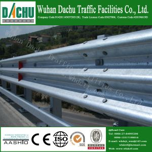 Dachu Rodovia rodovia Expressway Thrie galvanizadas corrimão de feixe de segurança